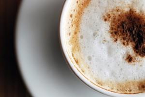 pyszna kawa w filiżance